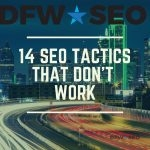 14 SEO Tactics That Don't Work Blog Cover