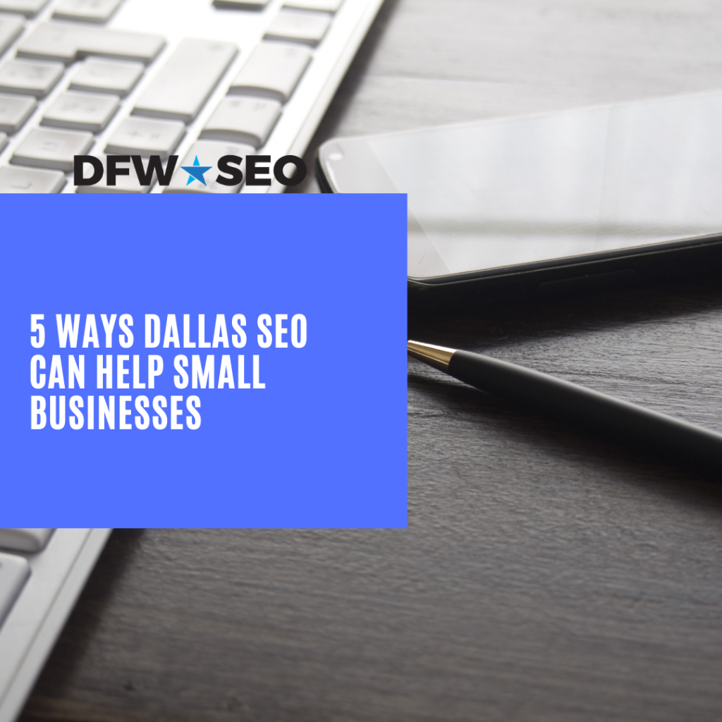 5 Ways SEO Can Help Dallas Business Cover