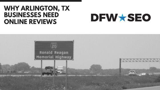 Arlington TX Reviews SEO Blog Banner
