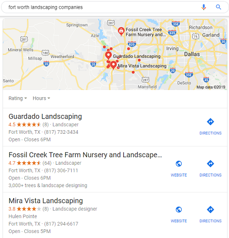 Business Reviews for Local Landscapers