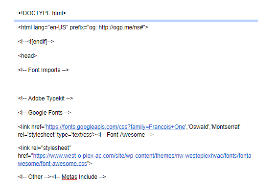 Codebase Example