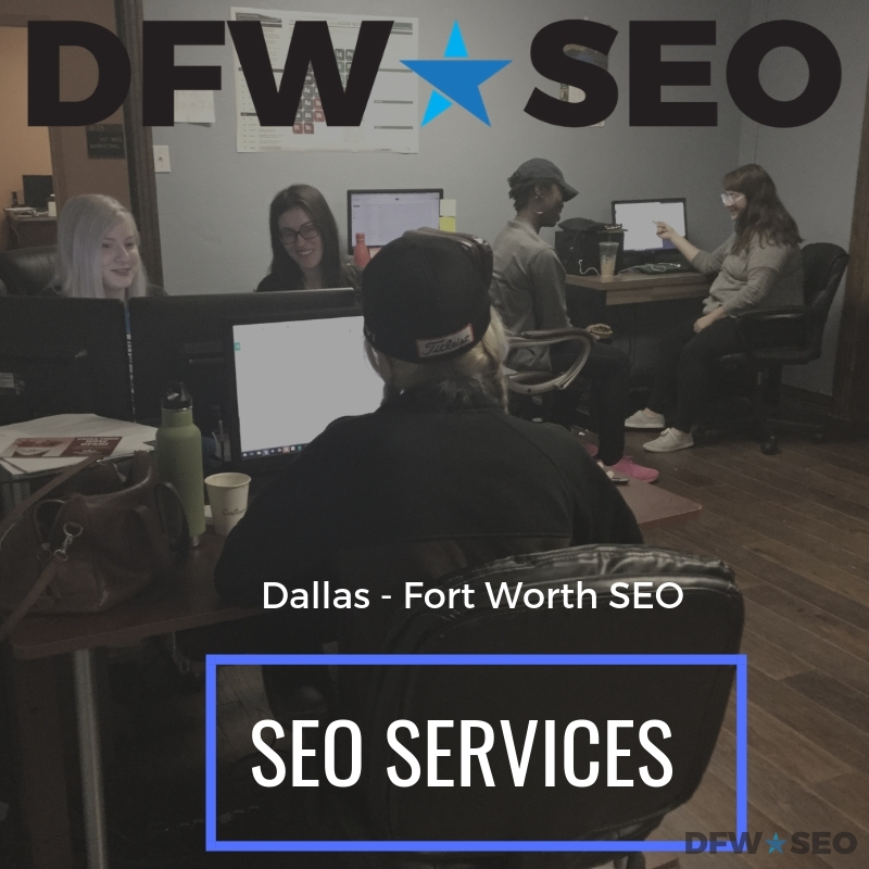 Dallas Fort Worth SEO Services Graphic