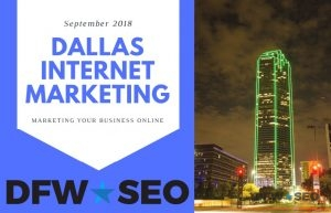 Dallas Internet Marketing Guide Cover Art