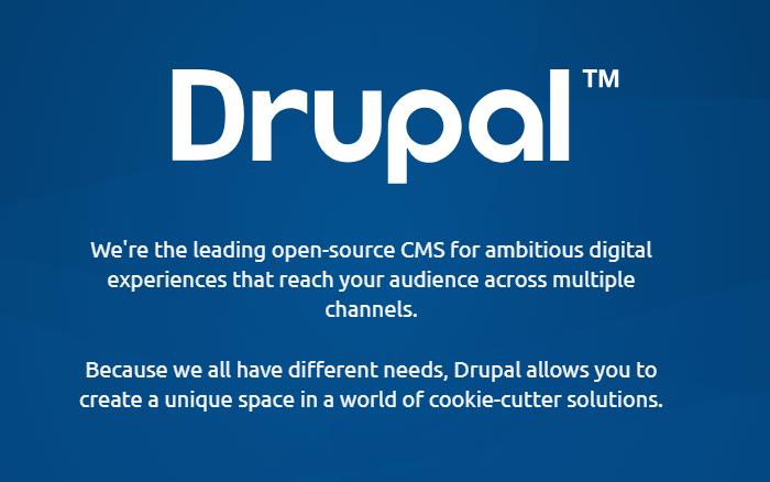 Drupal Screenshot