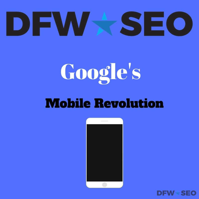 Google Mobile Revolution Graphic