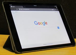 Google Search Apple Tablet