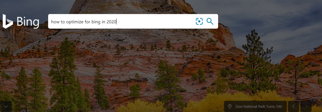 How To Optimize for Bing in 2020