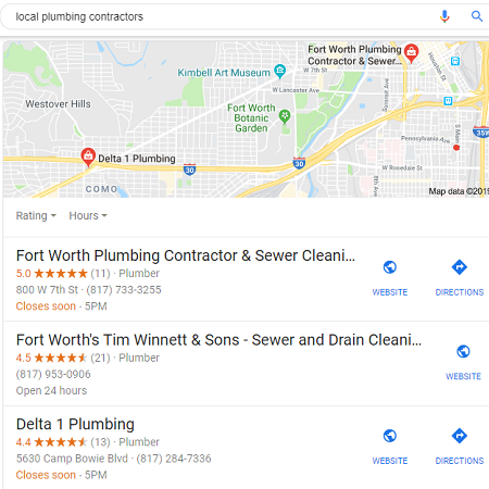 3 Pack Local Search Listings