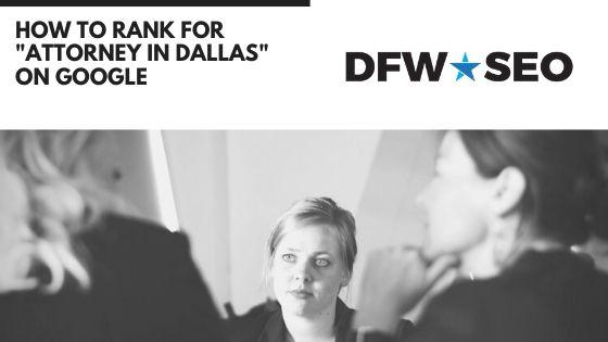 Rank for Attorney in Dallas Blog Cover