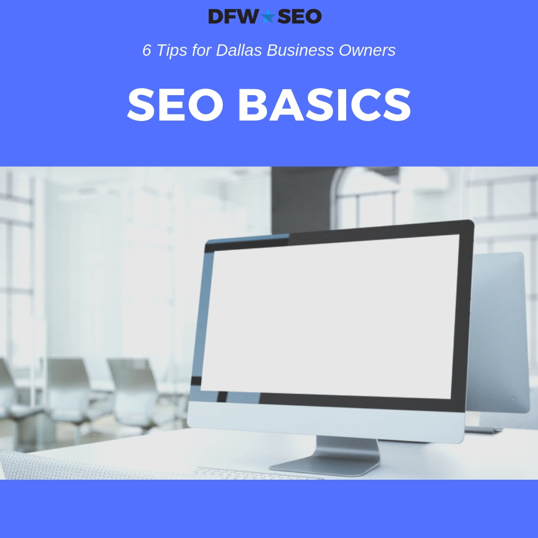 SEO Basics Dallas Blog Cover