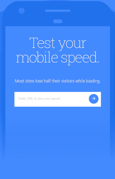 Test My Mobile Site Speed Screenshot