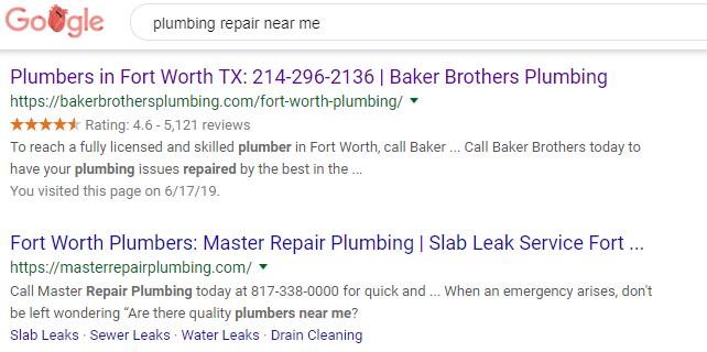 Ranking #1 on Google Through Organic Results