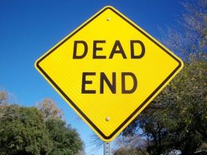dead end content